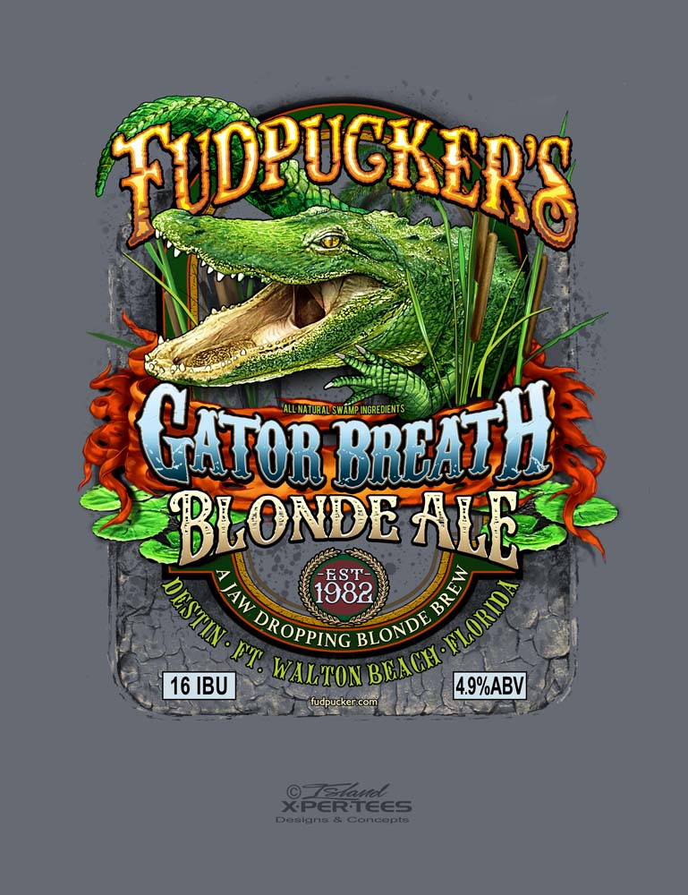 Fudpucker's Gator Breath