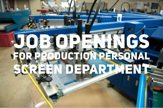 Production Job Openings